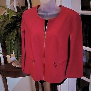 Chic Cape-Sleeve Jacket by Chico's NWT 2 Large